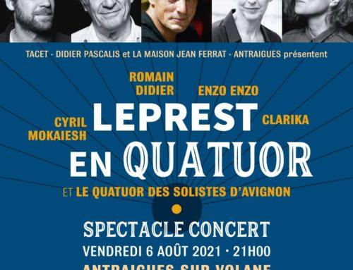 Concert hommage à Allain Leprest